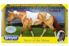 Breyer Chance 701735 American Paint Horse - Mid States Special Run Zippo Pine Bar Red Dun Tobiano Pinto New In Box Tradition Model Horse