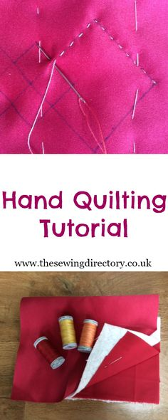 Sewing techniques hand quilting tutorials 29 ideas for 2019 Quilting For Beginners, Sewing Projects For Beginners, Quilting Tips, Quilting Tutorials, Hand Sewing Projects, Machine Quilting, Sewing Tutorials, Colchas Quilt, Quilt Binding