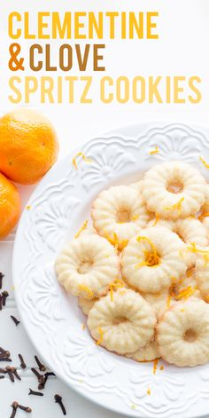 A twist on the Christmas classic, these clementine and clove spritz cookies are full of bright and warm holiday flavor.