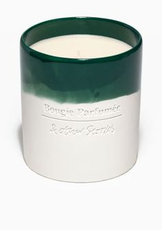 Such an attractive dip-dye candle from & Other Stories | Saison Verte Scented Candle