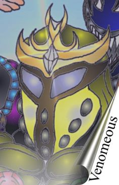 Lumanite X Images - Venomeous - Lumanite X's mortal enemy in the 7 crystals Novel!