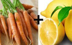 Suco de cenoura, limão e linhaça - Cura pela Natureza
