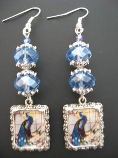Peacock Jewelry Earrings  Peacock Earrings  Tiffany by jewelryrow, $14.00 https://www.etsy.com/listing/69460534/peacock-jewelry-earrings-peacock