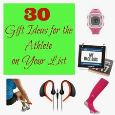 The Morning Runner: 30 Gift Ideas for the Athlete on Your List