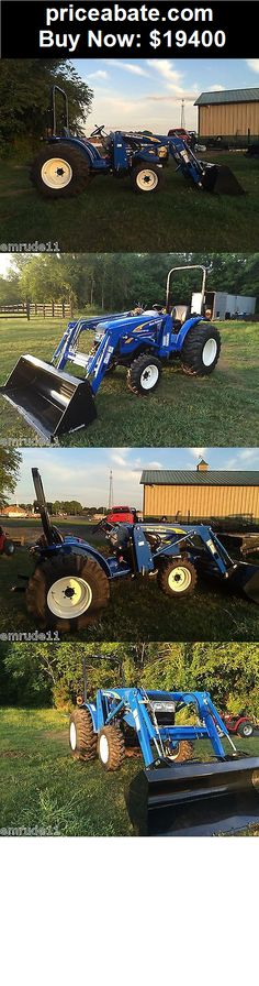 Heavy-Equipments: NEW HOLLAND WORKMASTER 40 FARM TRACTOR WITH LOADER & & 3 POINT HITCH - BUY IT NOW ONLY $19400