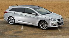 Hyundai-i40-Tourer diesel. 62.8MPG