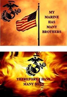 Once A Marine, Marine Mom, Us Marine Corps, Marine Life, Marine Quotes, Usmc Quotes, Military Mom, Army Mom, Us Marines