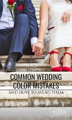 Common Wedding Colour Mistakes And How To Avoid Them ❤ When it comes to planning your #wedding, the colours you choose can make all the difference. You can avoid the most common wedding colour mistakes if you follow this advice. See more: http://www.weddingforward.com/common-wedding-color-mistakes-avoid/ #weddingplanning #brides