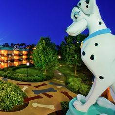 Caption This: Dalmatian Dreams at Disney's All-Star Movies Resort at Walt Disney World Resort