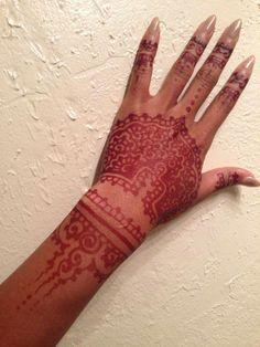 #henna #mehndi #freehandartist #atlanta #nightlife #bodyart #temporary #painless #atlevents #atlmodels #atlmusic #tattooist