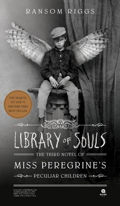 Library of Souls: The Third Novel of Miss Peregrine's.: Library of Souls: The Third Novel of Miss Peregrine's… Ya Books, Good Books, Books To Read, Teen Books, Children Books, Miss Peregrine's Peculiar Children, Peregrine's Home For Peculiars, Miss Peregrines Home For Peculiar, Reading Library