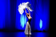 Belly dance meets burlesque