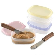 Mini-Snack Containers - Set of small lunchbox containers Lunch Box Containers, Montessori Practical Life, Montessori Materials, Food Preparation, Main Dishes, Snacks, Parenting Tips, Eat, Mini