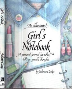 An Illustred Girls Notebook - Sebo do Bau | Estante Virtual