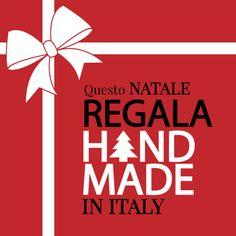 """""""REGALA HANDMADE IN ITALY"""" è un'iniziativa di Handmade in Italy per promuovere e sostenere l'artigianato italiano. Aderisci anche tu a questa iniziativa condividendo l'immagine sulla tua bacheca o utilizzandola come immagine di profilo. GRAZIE!"""