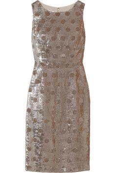 polka dot sequin dress / oscar de la renta... the dress of my dreams