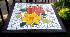 Mosaic Crafts, Mosaic Projects, Mosaic Art, Mosaic Tiles, Mosaic Designs, Mosaic Patterns, Mosaic Stepping Stones, Mosaic Pictures, Cardboard Crafts