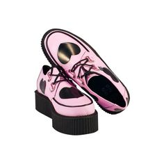 Tumblr ❤ liked on Polyvore featuring shoes and creepers