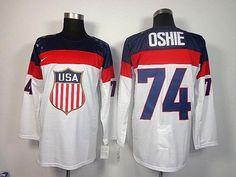 2014 Olympic Team USA  74 T. J. Oshie White Stitched NHL Jersey   NHL Olympic USA 035  -  32.90   Superbowlfans.us 85b20fa1b