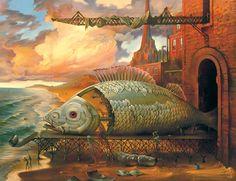 Vladimir Kush est un peintre traditionnel russe né en 1965 en Russie. Ses nombreuses toiles s'inscrivent dans le courant surréaliste rendu populaire notamment par Dali. Ainsi les oeuvres ci-dessous nous transportent toutes dans des rêves, colorés et imaginaires. L'artiste a comme vous pouvez le voir beaucoup de bonnes idées et n'hésite pas a ajouter une […]