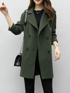 JIANLANPTT Fashion Layers Collar Double Breasted Belt Girls Trench Coat Outerwear