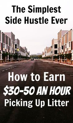 Is this the simplest side hustle idea ever? You can make money taking a walk and picking up litter, and this guide will show you how to find the companies that will pay you. Work From Home Jobs, Make Money From Home, Way To Make Money, Make Money Online, Hustle Money, Pick Up Trash, Earn More Money, Money Fast, Online Jobs