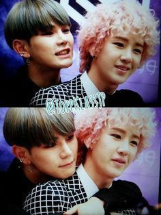 Hansol ❤ B-Joo = HanJoo..... My two bias from Topp Dogg along with Xero ^^ They are so CUTE together and all sweet ❤❤❤