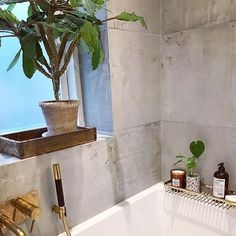 Concrete Tiles for the Walls Industrial Style Bedroom, Industrial Interiors, Grey Bathrooms Designs, Grey Interior Design, Grey Paint Colors, Concrete Tiles, Grey Wallpaper, Grey Tiles, Bathroom Wall