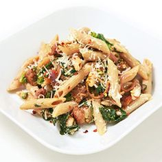 broccoli rabe penne // we change it up a little every time, but broccoli rabe is definitely a game-changer.