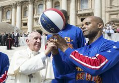 He also got his own jersey, 'Pope Francis,' number 90.