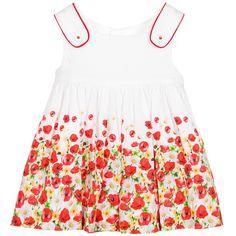 Mayoral Baby Girls Poppy Print Dress at Childrensalon.com