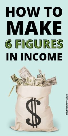 Learn how much is 6 figures and how to reach a six-figure salary. Discover jobs with a 6 figure potential that require or don't require a degree. #6figuresincome Earn More Money, Make Money Fast, Earn Money Online, Make Money From Home, Money Management, Money Saving Tips, Making Ideas, Things To Sell, Personal Finance