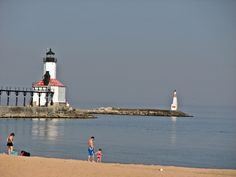 Michigan City, Indiana.  I grew up at the beach.  And still enjoy it to this day!