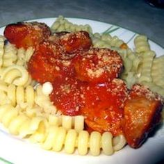 Slow Cooker Sausage with Sauce Allrecipes.com
