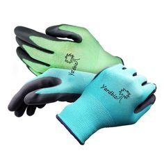 Gardening Gloves Womens Garden and Yard Work Tool 4 Pair Pack Small to Medium Nitrile Coated Lightweight Breathable Stretchable Durable for Safety to Prevent Blisters using Pruning Shears 100% Money Back Guarantee Machine Washable Enhance Your Garden Experience Today! http://amzn.to/23Sp27C