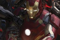 Iron Man in The Avengers: Age of Ultron