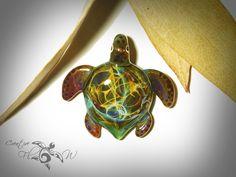 space turtle - Imgur   http://glassturtlependant.com  #glassturtle #flameworked #jewelry #freeshipping #turtle