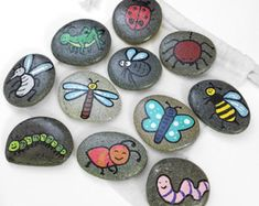 Spring Themed Story Stones / Storytelling by BeautifulLilMonsters