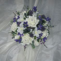 all bouquets placed orders we do all packages to suit your needs we use silk foam or real flowers we do post out recorded post or can deliver if location areas near us we are based in sandy bedfordshire .please email for more prices per packages thanks