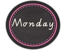 DAYS OF THE WEEK - CHALKBOARD CIRCLES - TeachersPayTeachers.com