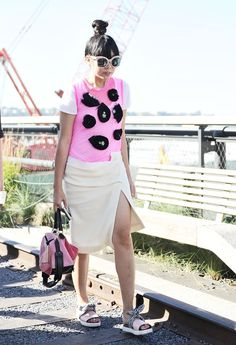Pin for Later: Les Meilleurs Looks Street Style de la New York Fashion Week New York Fashion Week, Jour 6 Susie Lau.