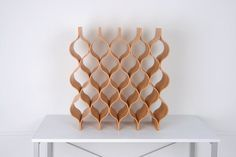 Wooden wine rack by createdbyTOKYO