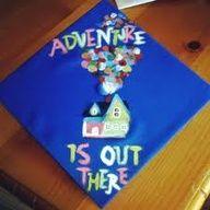 """""""up"""" graduation cap! :)"""