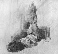 Adrian Reclining by Jennifer McChristian ~ x