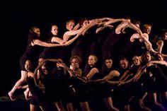 The MMC Dance Company in David Parson's A Work in Progress.