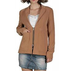 Sacou Dama VERO MODA Just Brown Hooded Jacket, Athletic, Brown, Jackets, Fashion, Jacket With Hoodie, Down Jackets, Moda, Athlete