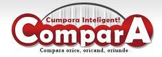 Compara.ro este un comparator de preturi cu zeci de produse din toate ariile.