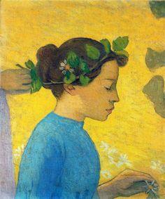 Profile of a girl - Aristide Maillol