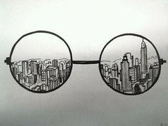 city dibujo tumblr - Buscar con Google