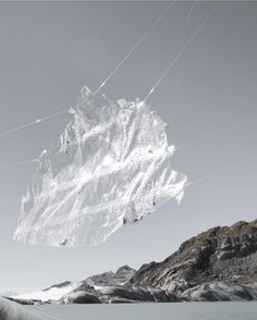 In mid-October 2016 artist Noemie Goudal travelled to the Rhone Glacier with a volunteer production team to produce an installation for Project Pressure. The idea behind the installation was to highlight how climate change is affecting landscape in Europe and the rest of the world.  For more information please visit our Journal.  #norseprojects #projectpressure